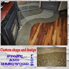 stone-and-hardwood